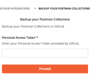 backup your postman collection